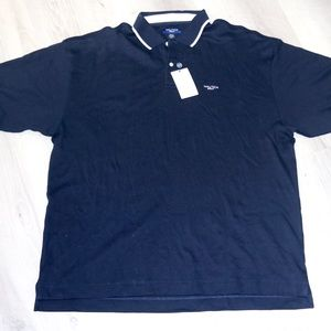 Nautica Gold Navy Polo